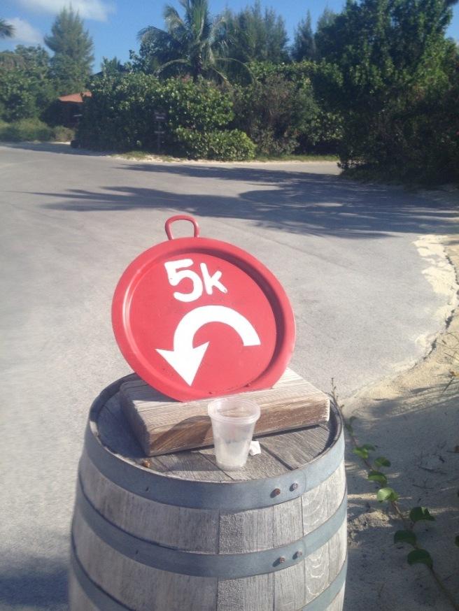 5k sign